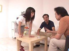 Nozomi Hazuki chce lastovička po blowjo