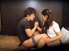 Japonský hotel masáž pokazilo Aj v HD