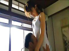 Japanisches Mädchen wird gefickt, bevor Sie lehrt und, wenn Sie lehrt,