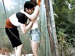 Koreja seksi scena zabranjen seks s pomoću x264