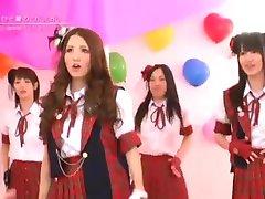 Japonský Nahé Dievčatá Kapela