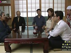 japanese big wife horny gangbang 1