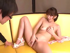 Exotic Japanese whore Yui Hatano in Hottest striptease, big tits JAV clip