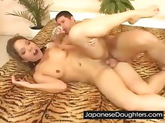 Rough japanese japanese daughter anal abuse