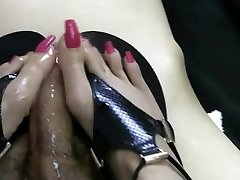 soooo sexi shoejob & footjob