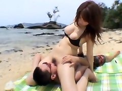 Amazing Japanese slut Shizuku Natsukawa in Hottest Girlfriend, Outdoor JAV movie