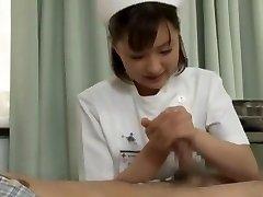 Hottest Japanese chick Yukiko Suo in Crazy Handjobs JAV scene