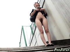 Fetish asians piss