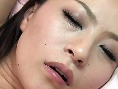 Studs taunt babe's clit with a fucktoy before they both fuck her