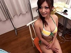 Incredible Japanese slut Haruki Sato in Hottest meaty tits, bikini JAV sequence