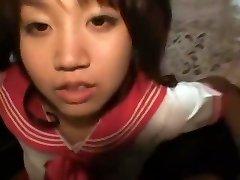 Gorgeous Japanese girl Kokoro Hanano in Mischievous Blowjob, Car JAV video