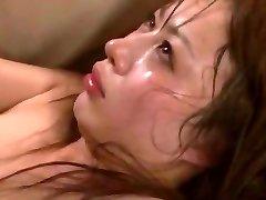 Horny Chinese girl Mau Morikawa in Horny Cuckold, Gangbang JAV video