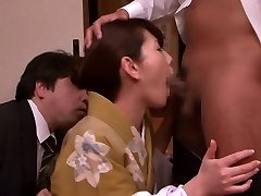 Crazy Japanese slut Misa Yuuki in Best deep throat, cuckold JAV movie