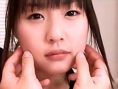 Pekné Ázijské teen Tsubomi v plavkách, prstoklad pov akcia