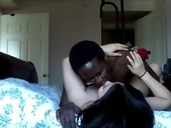 Asian Mature Wifey Fucks BIG BLACK COCK Husband Calls Her Phone Again