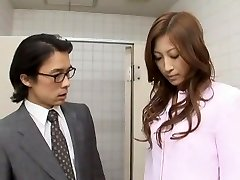 Amazing Japanese girl Leila Aisaki in Horny Spycam, Handjobs JAV video