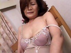 Mature Japanese Onanism