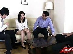 Dona de casa sexo anal