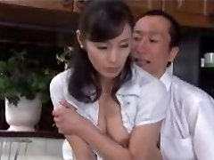 Japanese Mature Having Sex with Chief Husband 2