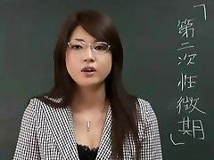Erika Sato - Woman Lecturer Nakadashi Anal Attack