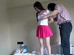 Chinese Schoolgirl Bound Up