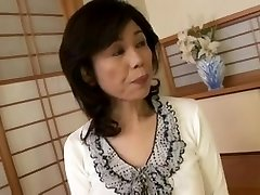 Breasty Japanese granny ravaged inexperienced