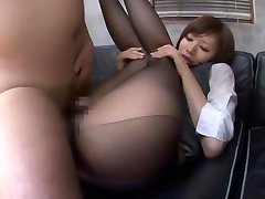 Exotic Japanese girl Yuria Shima in Finest Duo, Office JAV movie
