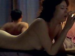 Sexy ázijské Zrelé nie Japanes ale kórejská herečka!!