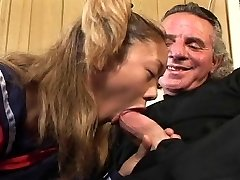 Hot schoolgirls inhaling dick compilation