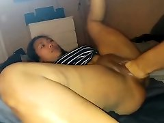 Asian honey gets fisted