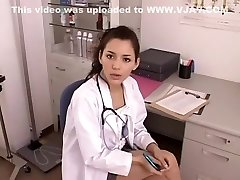 Jaw-dropping Japanese woman in Exotic Nurse, CFNM JAV video