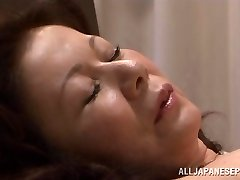 Chizuru Iwasaki hot mature Asian chick is fucked rock-hard