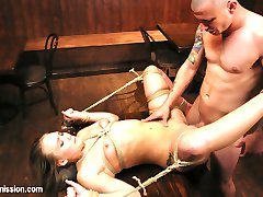 AJ Applegate Fantasizes about getting roughed up and fucked in the ass by a shady bar owner in a...