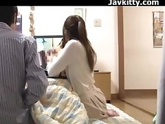 Japanese Amateur Couple Witness Porn Together