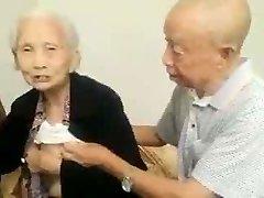 Asian Elderly Couple