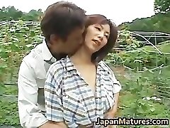 Chisato Shouda Japanese mature dame gets part3