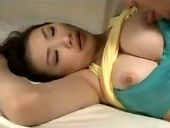Sleeping woman fucked by his brother