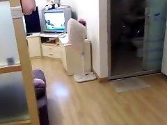 Jaunimo mėgėjų Kinijos naminis seksas ant sofos