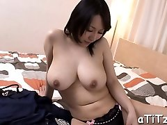 Big pantoons asian's lusty insertion