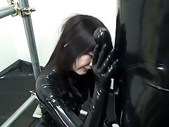 Asian Spandex Catsuit 92
