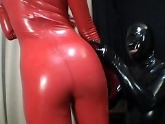 Chinese Latex Catsuit Sixty-nine
