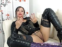 Chinese PornbabeTyra Gives You Horny Domination
