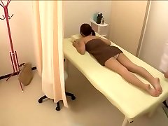 Nice diminutive Jap screwed in hot spy cam massage video