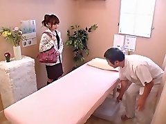 Cute babe gets banged rigid in voyeur Japanese sex movie