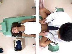 JapWife получает ее киска забивается гинеколог ч2