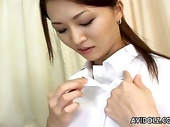 Hot and lascivious Asian nurse is getting super-naughty with her patient