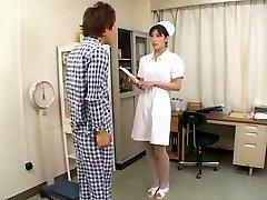 Perfect Asian Nurse ORAL JOB CIM