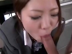 Asian office inhale