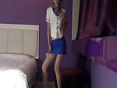 Korean Stocking air stewardess