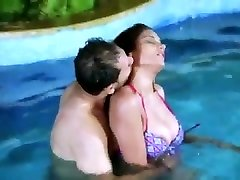 Romance in swimming Pool